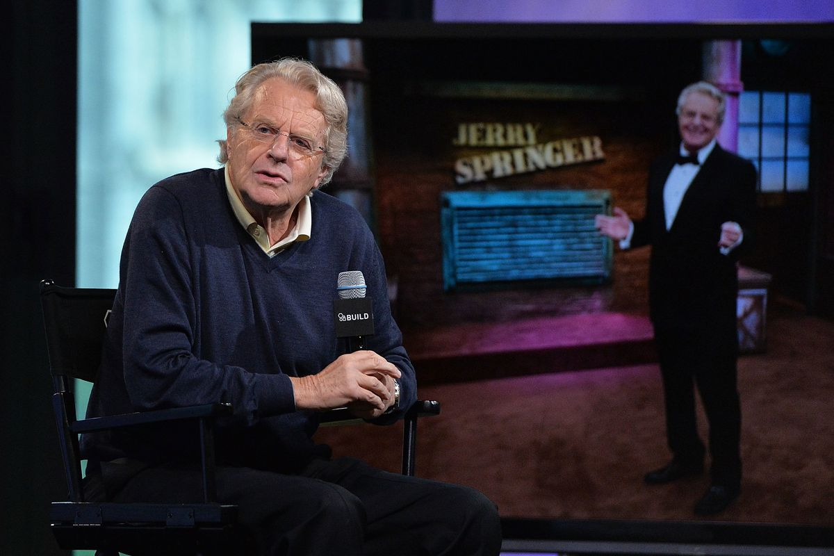 Introducing the Honorable Judge Jerry Springer