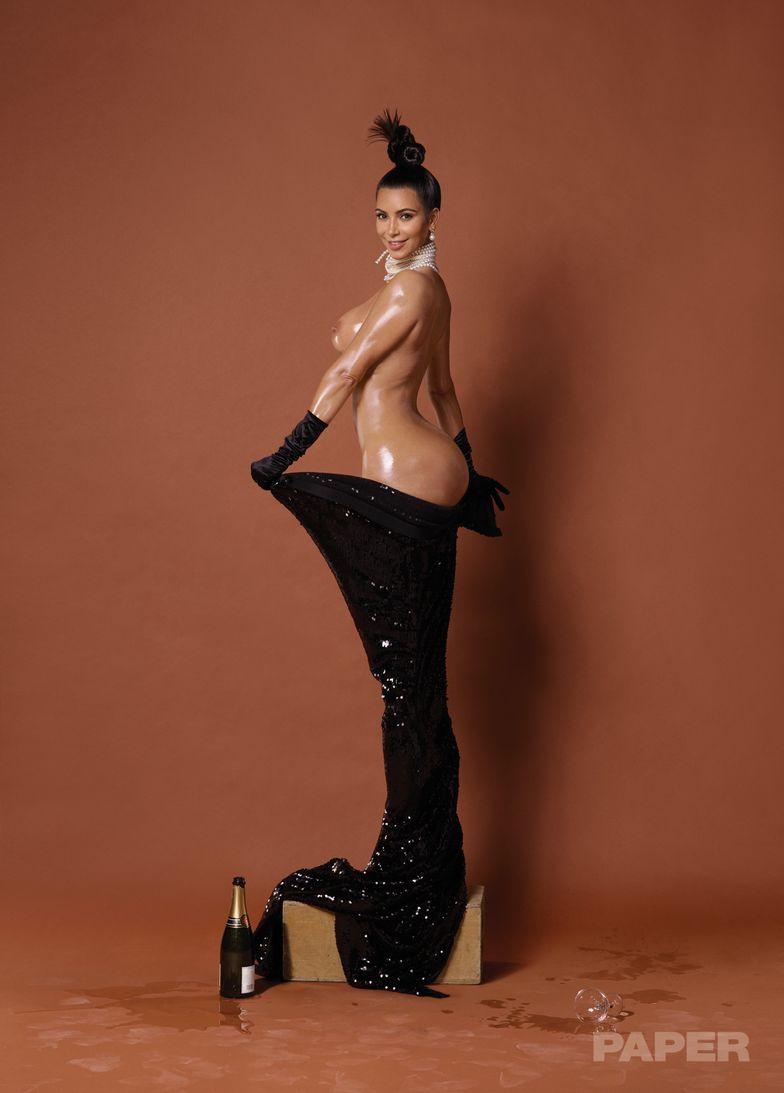 Kim Kardashian Naken