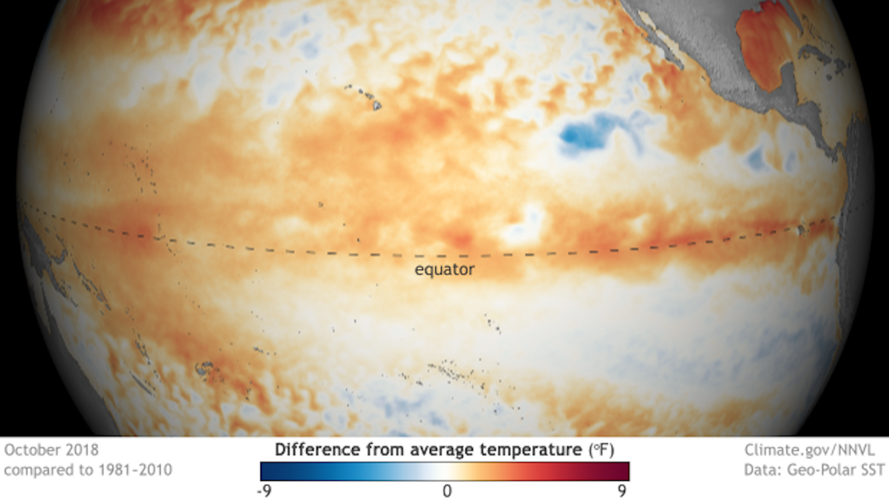 Brace Yourselves for El Niño Likely in 2019