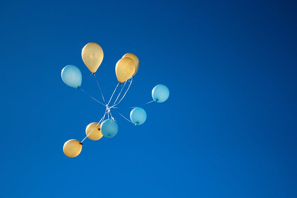https://www.pexels.com/photo/photo-of-yellow-and-blue-balloons-on-sky-1590915/