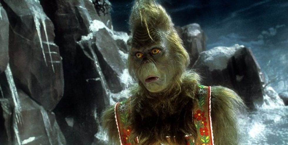 Your College Life In December, As Portrayed By The Grinch