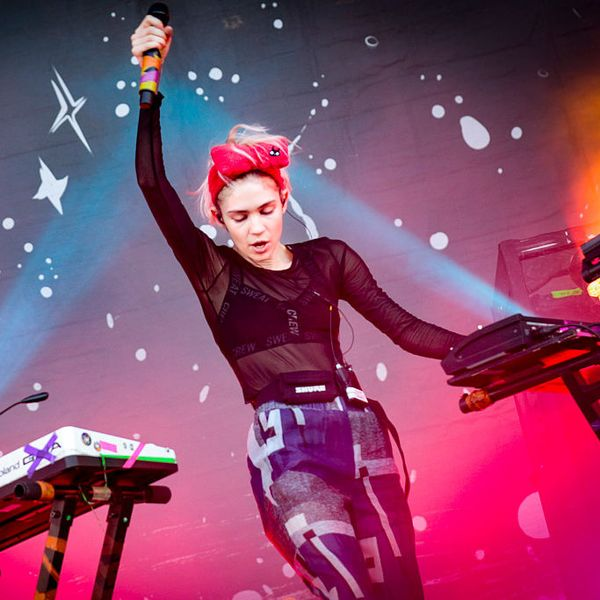Listen to the New Grimes Song Right Now