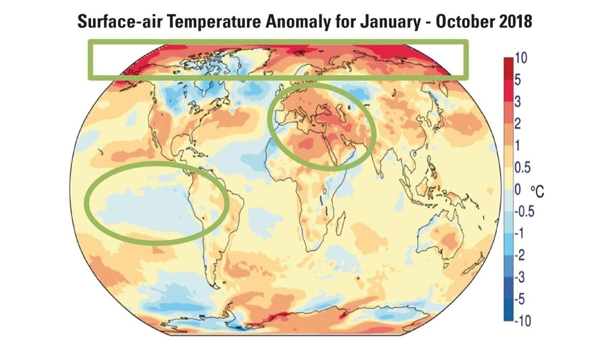 The Last Four Years Were Likelythe Hottest on Record