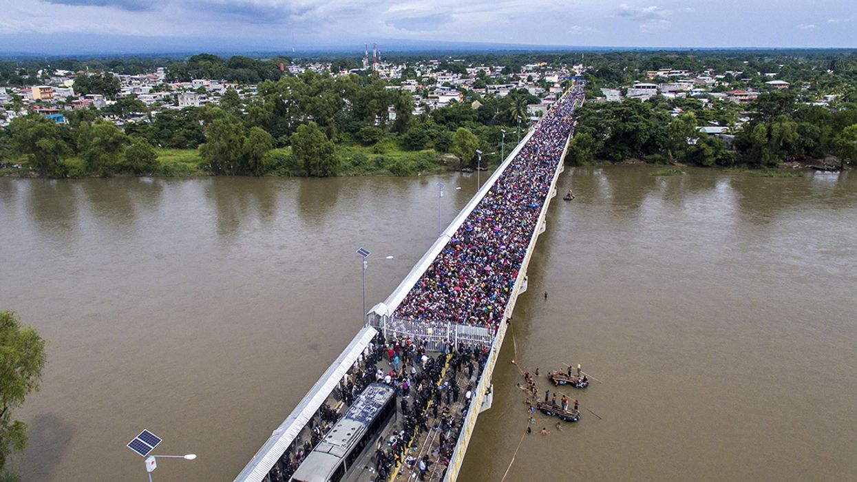 Why the Migrant Caravan Story Is a Climate Change Story