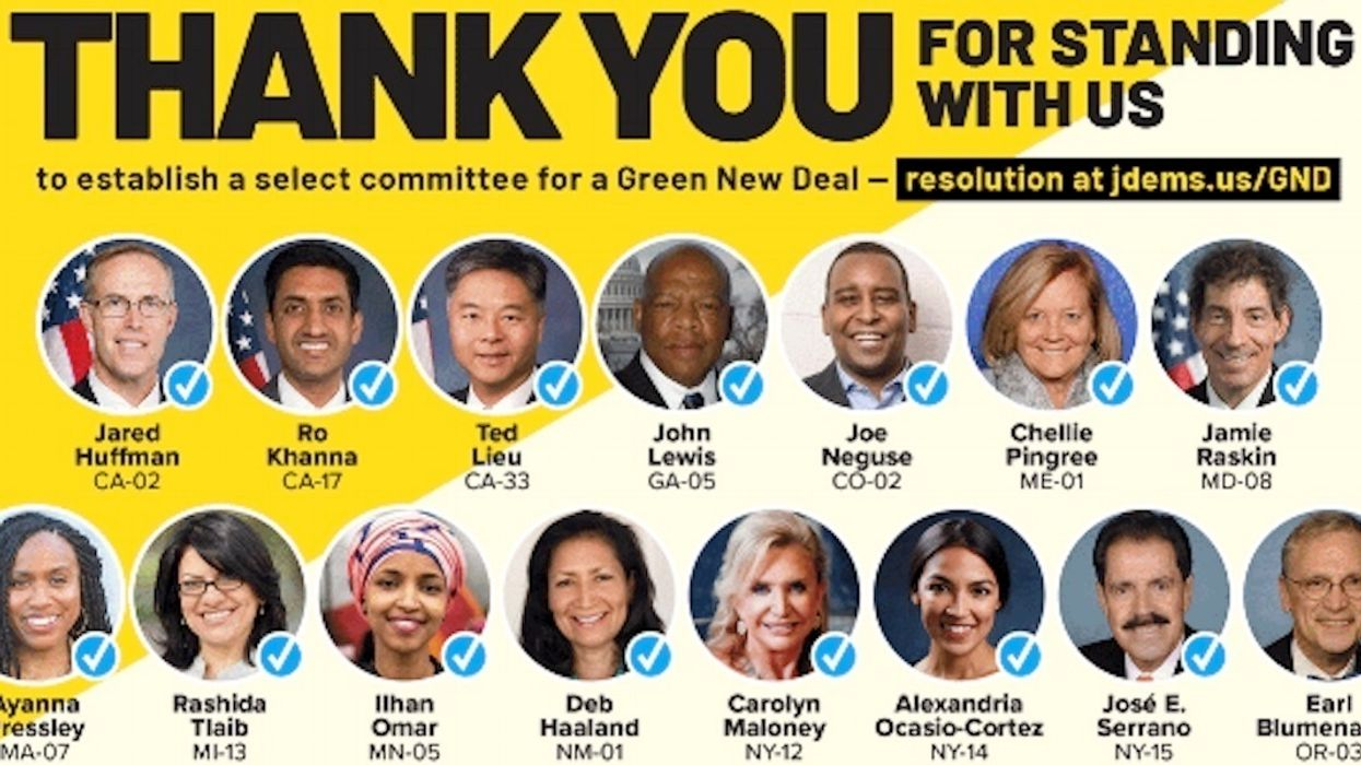 Ocasio-Cortez's Green New Deal Proposal Now Backed by 15 House Democrats