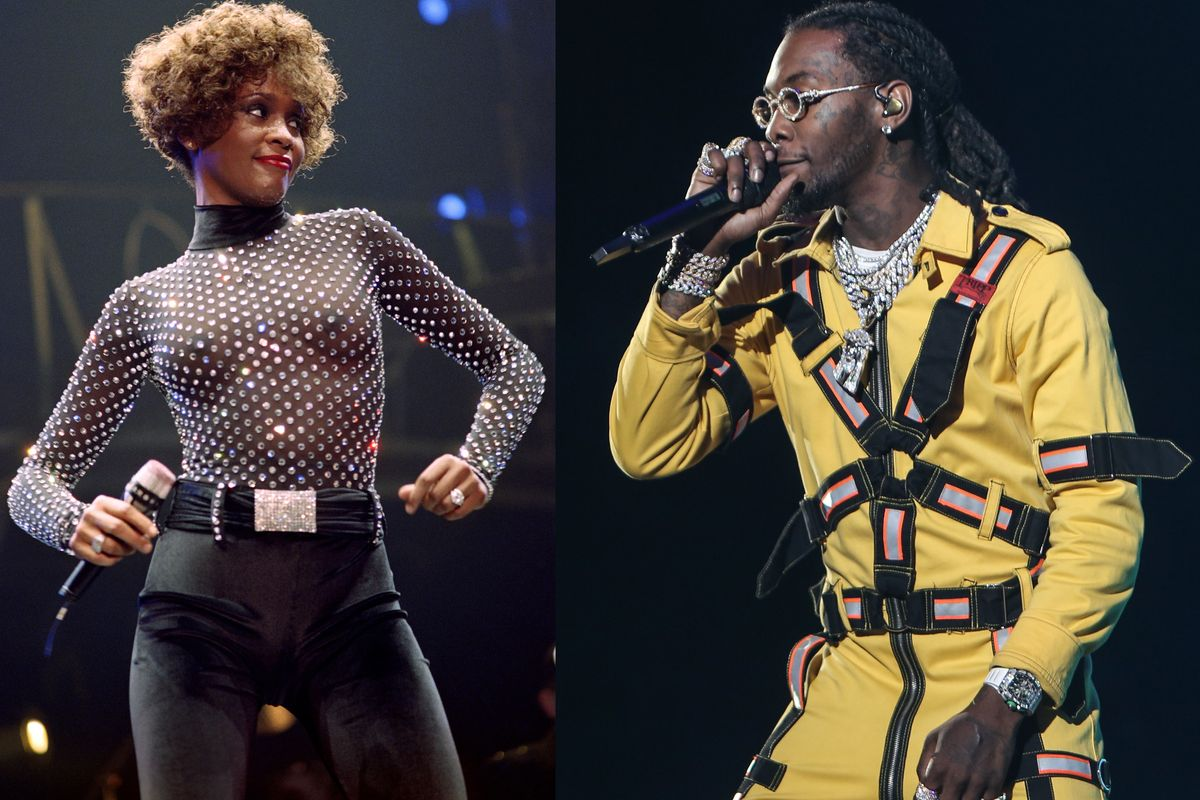 Did You Know Offset Was A Backup Dancer For Whitney Houston And TLC?