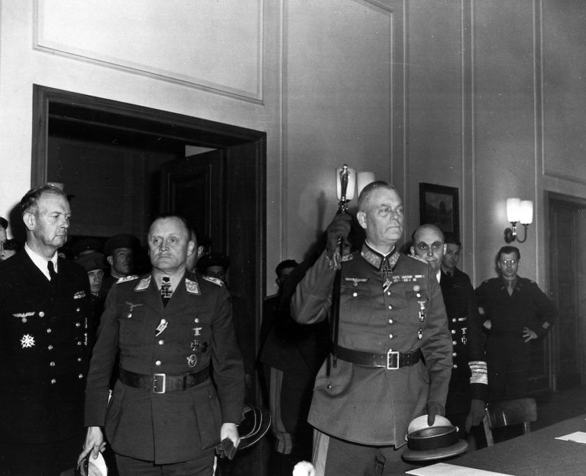 What It Was Like In The Room When Nazi Germany Surrendered