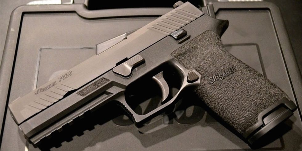 Sig's P320, The Army's New Handgun, Is In Hot Water After