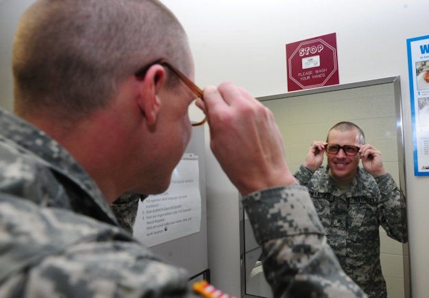 A Brief History Of The Military's Unsightly 'Birth Control Glasses