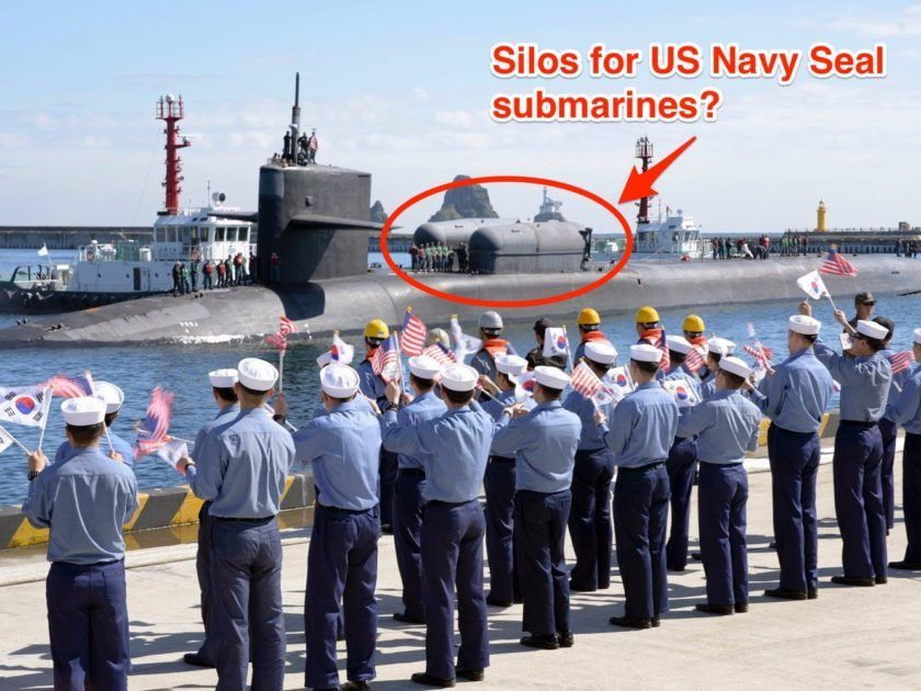 Is The Nuclear Sub The US Sent To South Korea Packing Navy