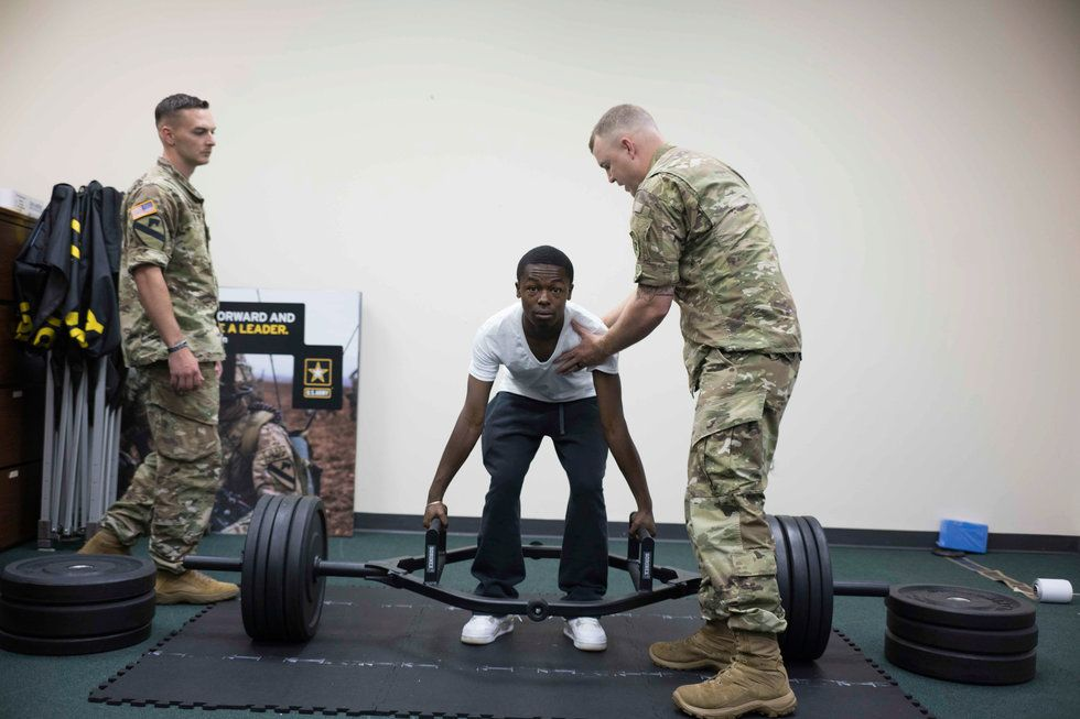 The Recruiters: Searching For The Next Generation Of Warfighters In