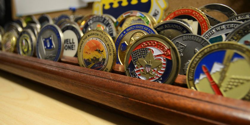 The Number Of Challenge Coins That Are Passed Out Is Too