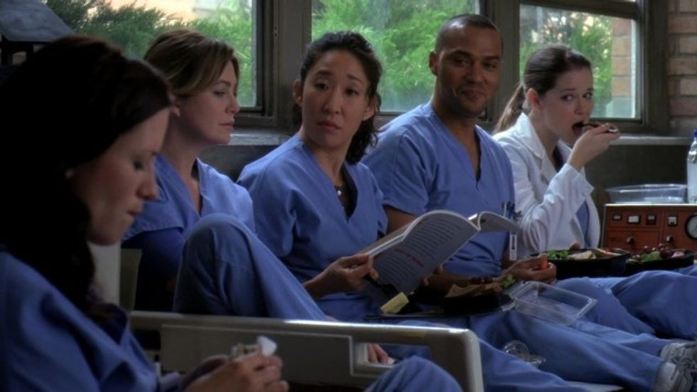 "Life Of A Science/Health Major As Told By The Cast Of ""Grey's Anatomy"""