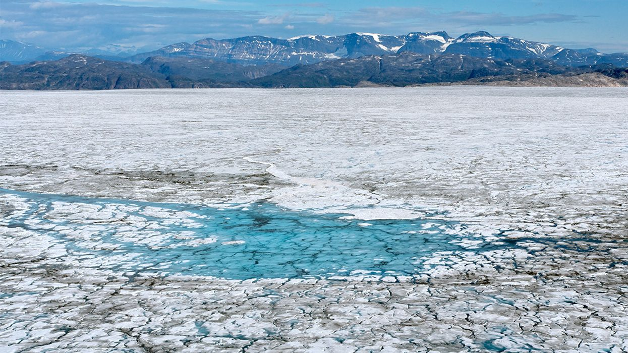 Greenland's Rapid Ice Melt Persists Even in Winter