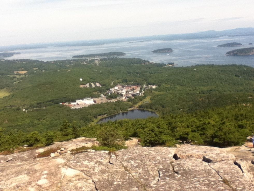 Hiking Up the Most Dangerous Trail in Acadia National Park