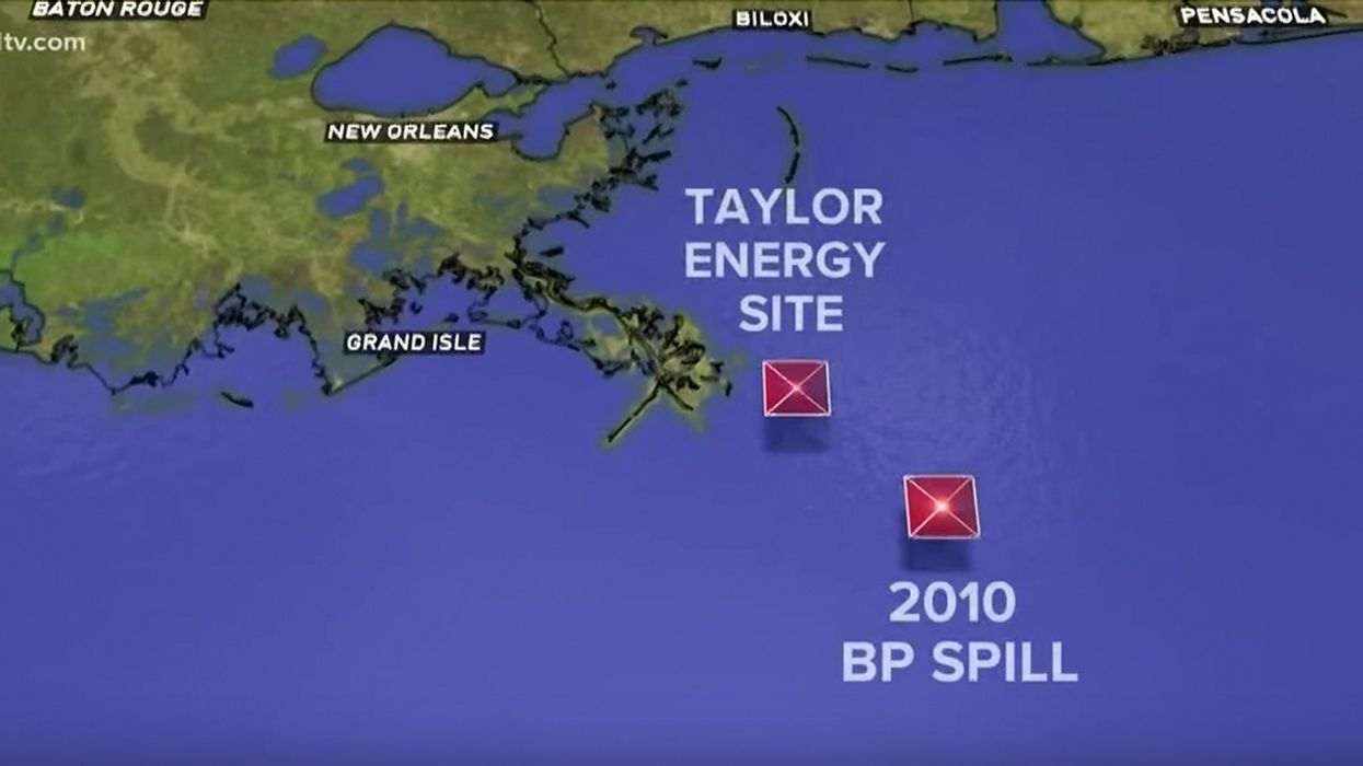 Oil Spill Continuing for 14 Years Could Become Nation's Worst Environmental Disaster