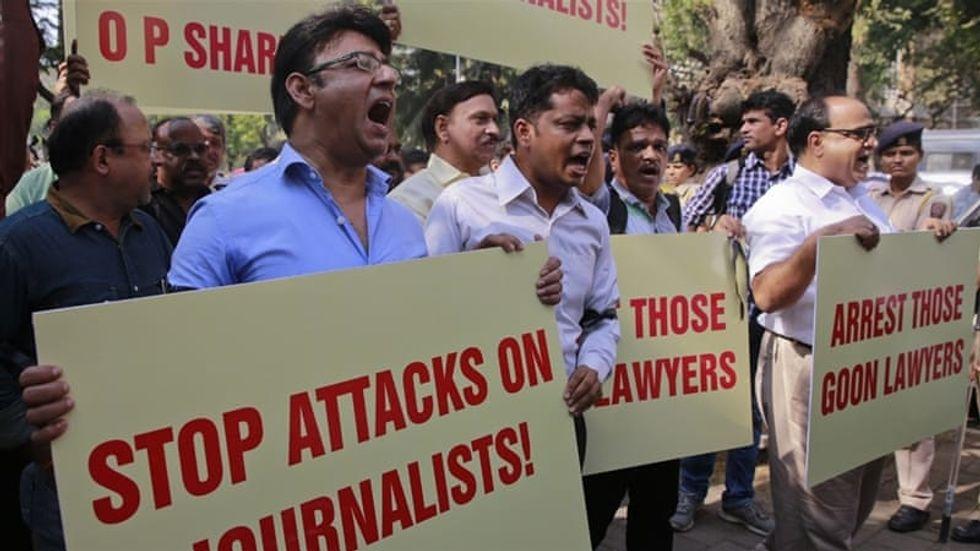 The Assassination Of Jamal Khashoggi Coupled With Attacks On Journalists.