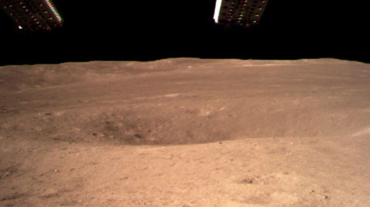 China's lunar rover nabs the first surface photos of the moon's 'dark' side