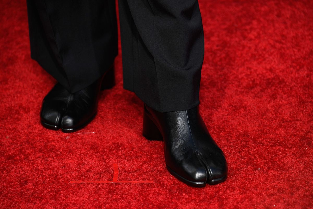 What Are Those Golden Globe 'Goat Shoes'?