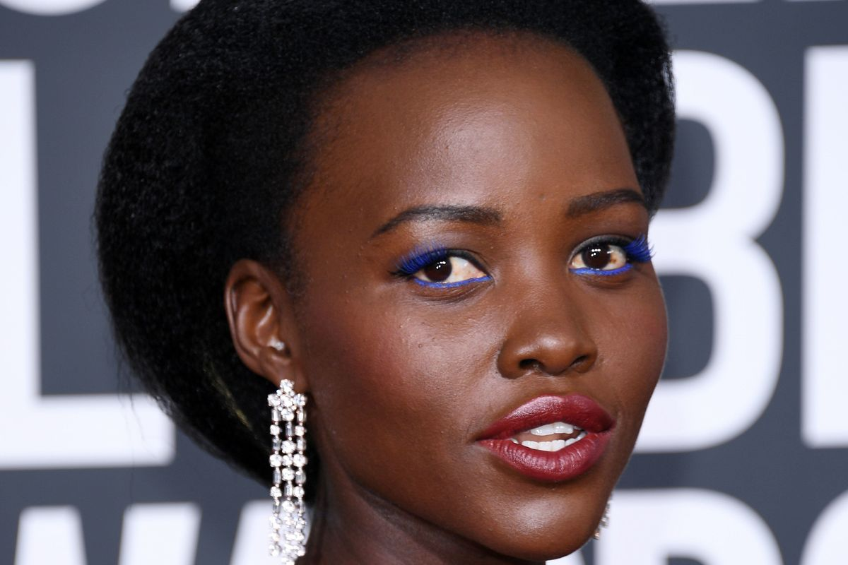 Lupita Nyong'o Matched Her Calvin Klein Gown With $45 Aldo Shoes