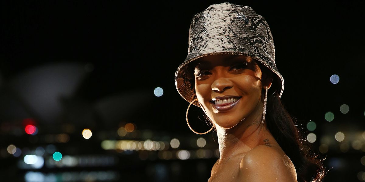 Rihanna Was in the Recording Studio This Weekend