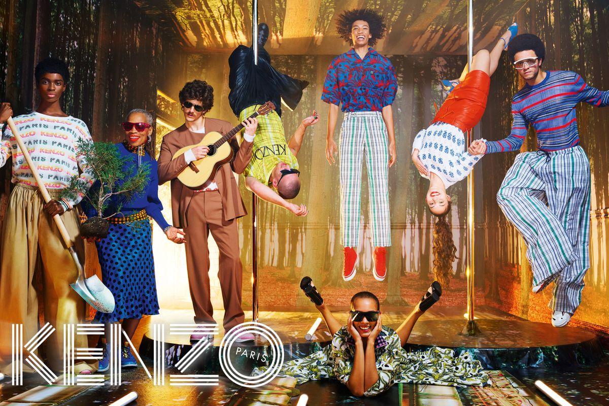 David LaChapelle Shot KENZO's Euphoric New Campaign