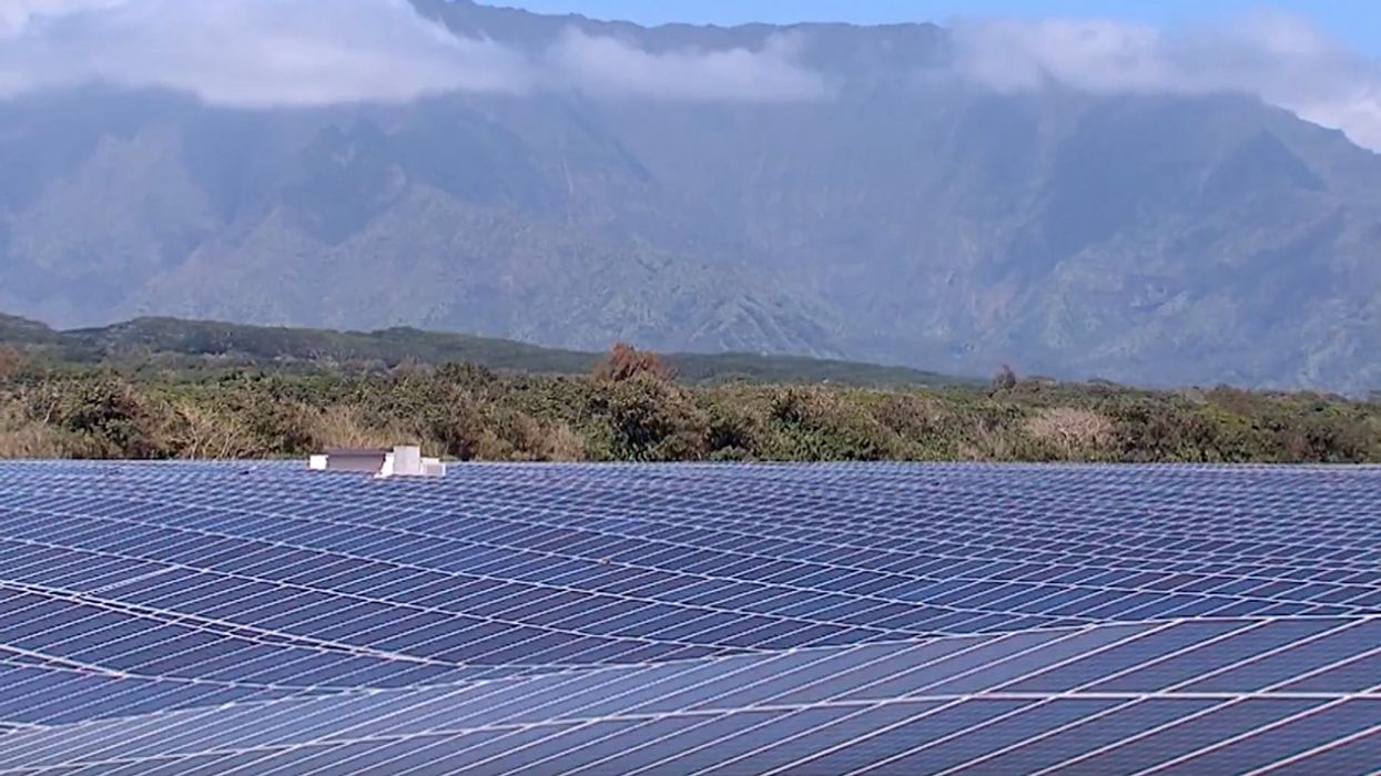 World's Largest Solar + Battery Plant Unveiled in Hawaii