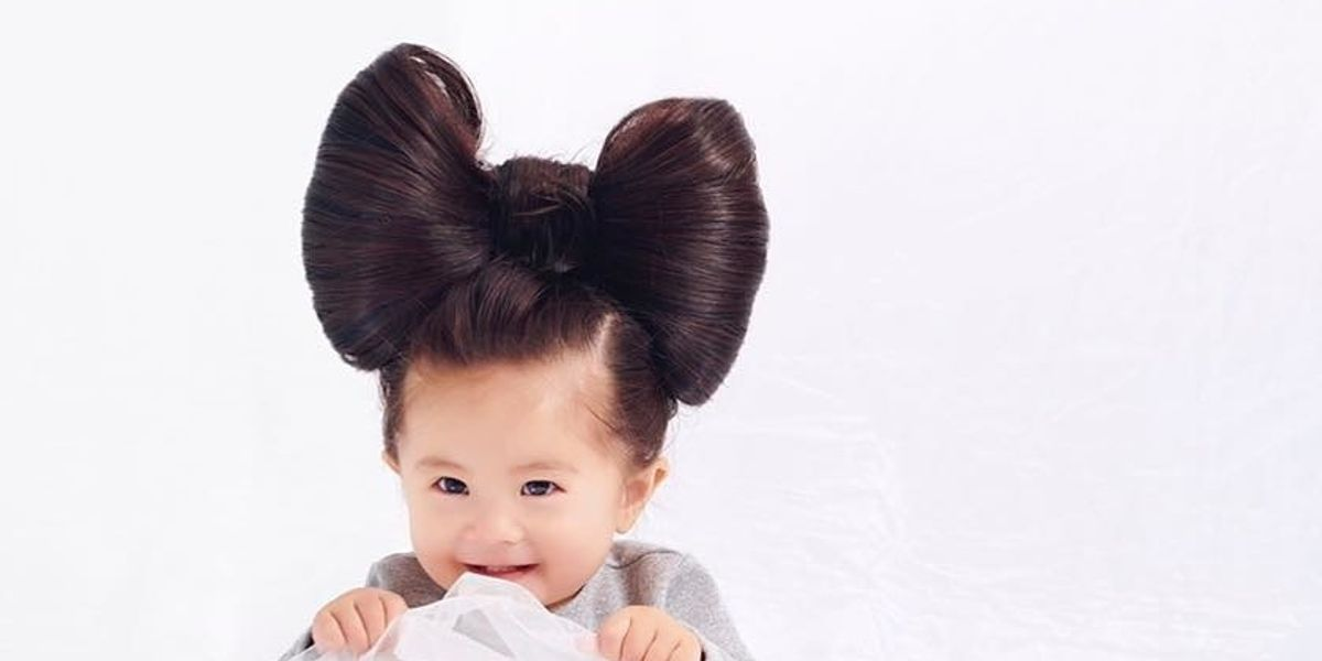 Viral Hair Model Baby Chanco Is Working With Pantene