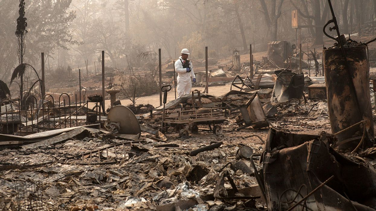 California's Biggest Utility Plans Bankruptcy Filing After Wildfires
