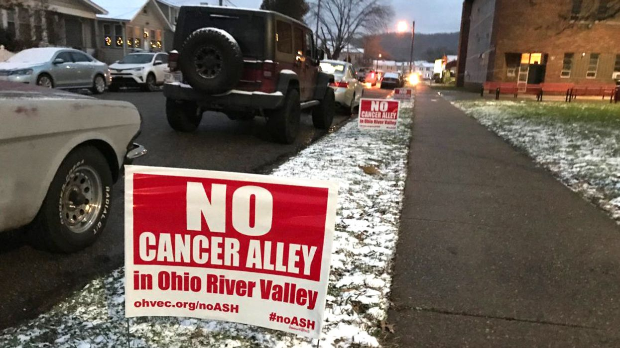 Taking on Climate Change and Petrochemicals in the Ohio River Valley
