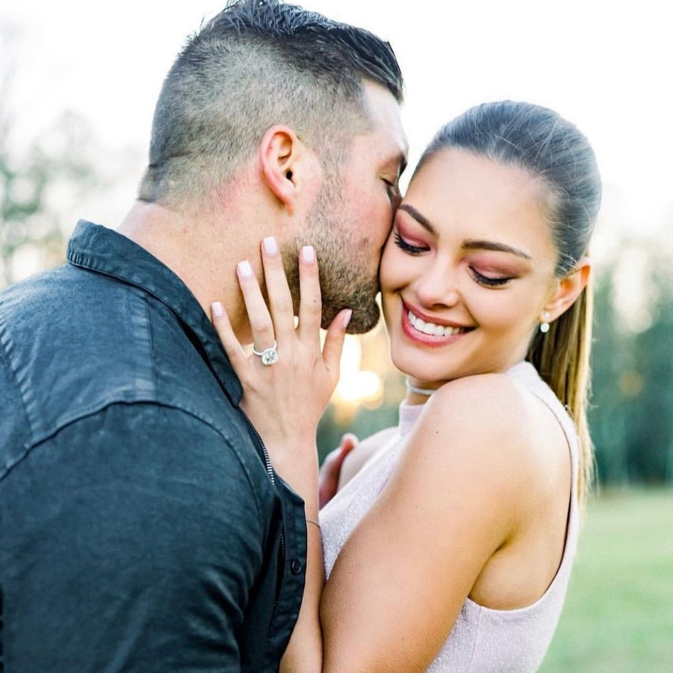 Tim Tebow And Miss Universe Are The Perfect Example Of A Couple Working For Christ