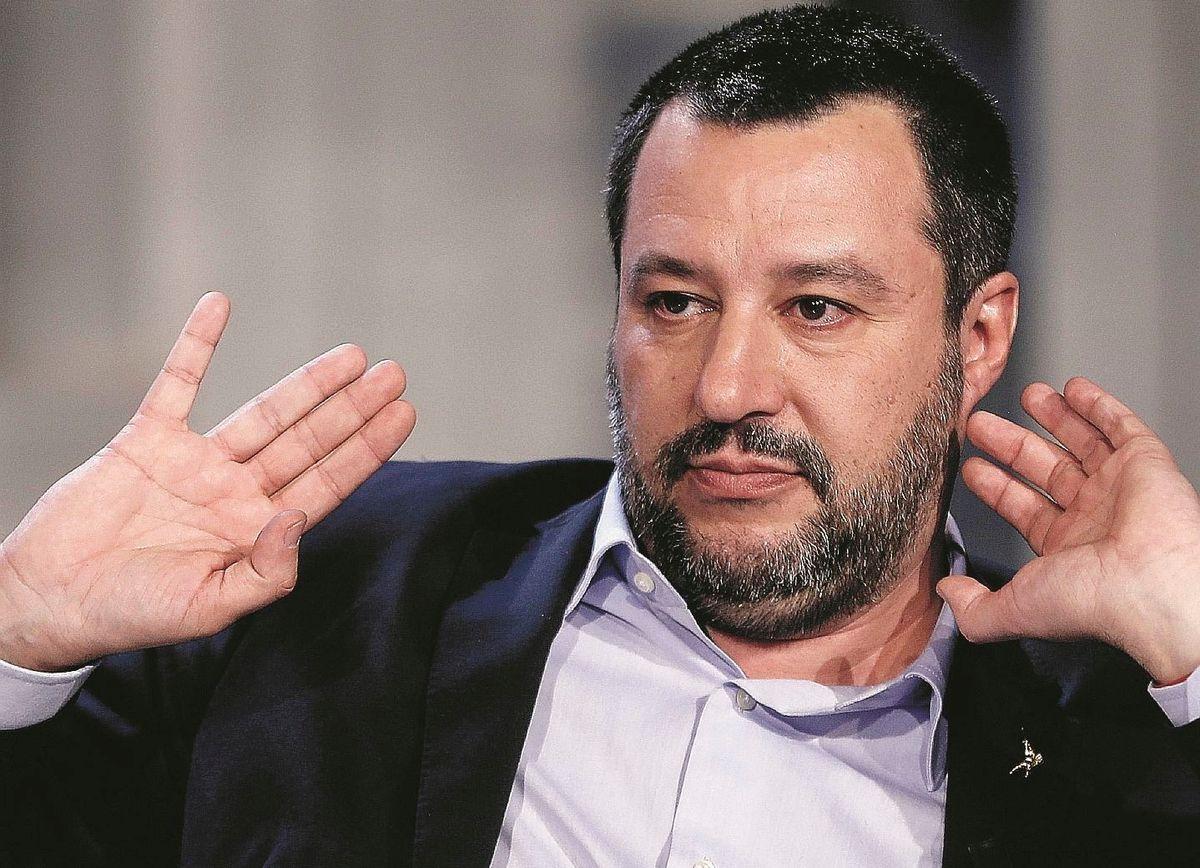Per la sinistra il terrorista è Salvini