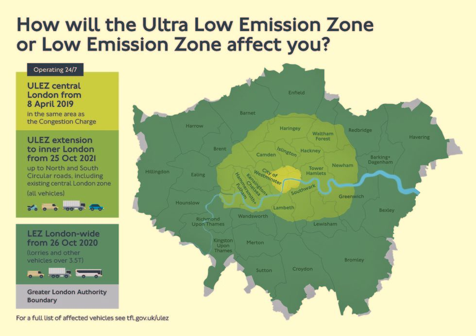 London's air pollution has surpassed toxic levels - Big Think