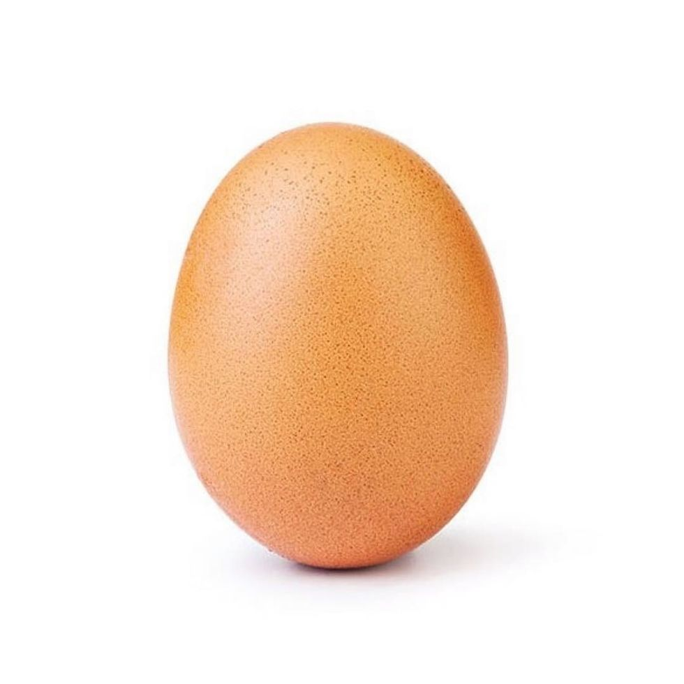 An Egg Now Holds the World Record for The Most Liked Instagram Photo, Yes You Read That Right