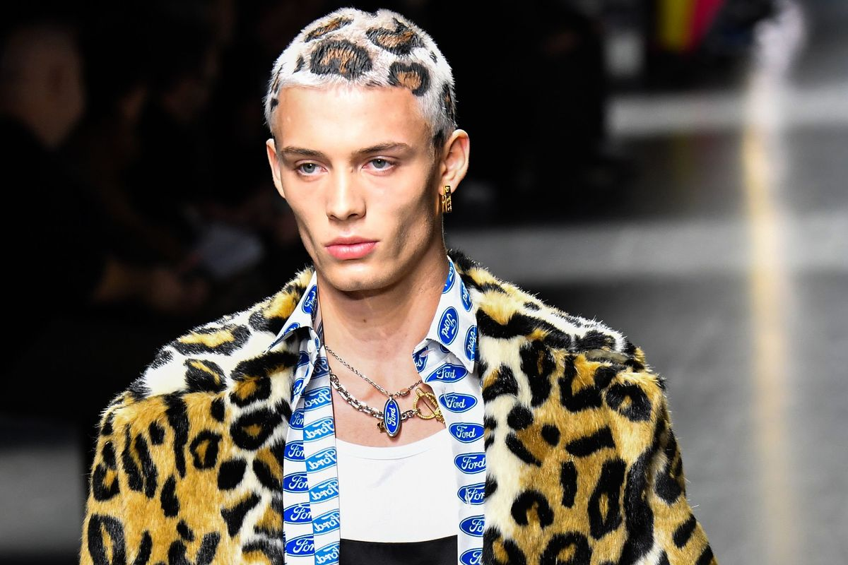 Nowstalgia: Versace's Leopard Print Hair Through Pop Culture