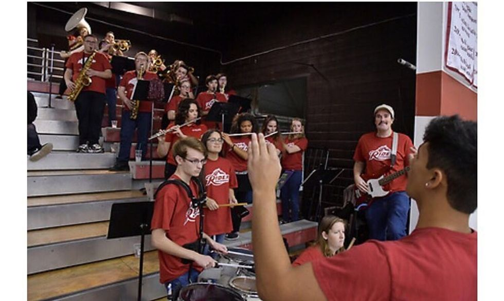 Being In A Pep Band In College Is Just As Good As Being In A Marching Band