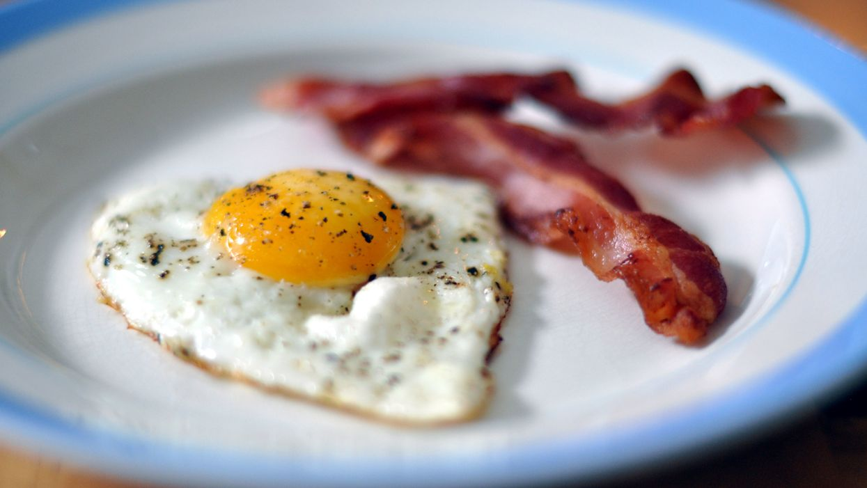 eggs and bacon keto diet foods