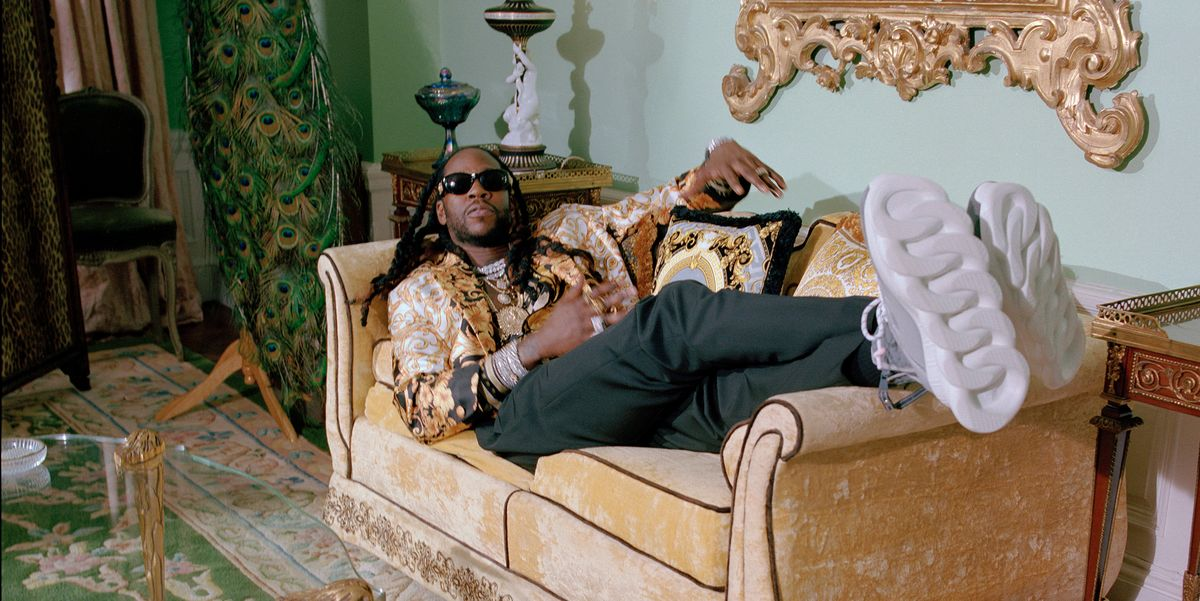 Versace Links Up With 2Chainz on New Sneaker