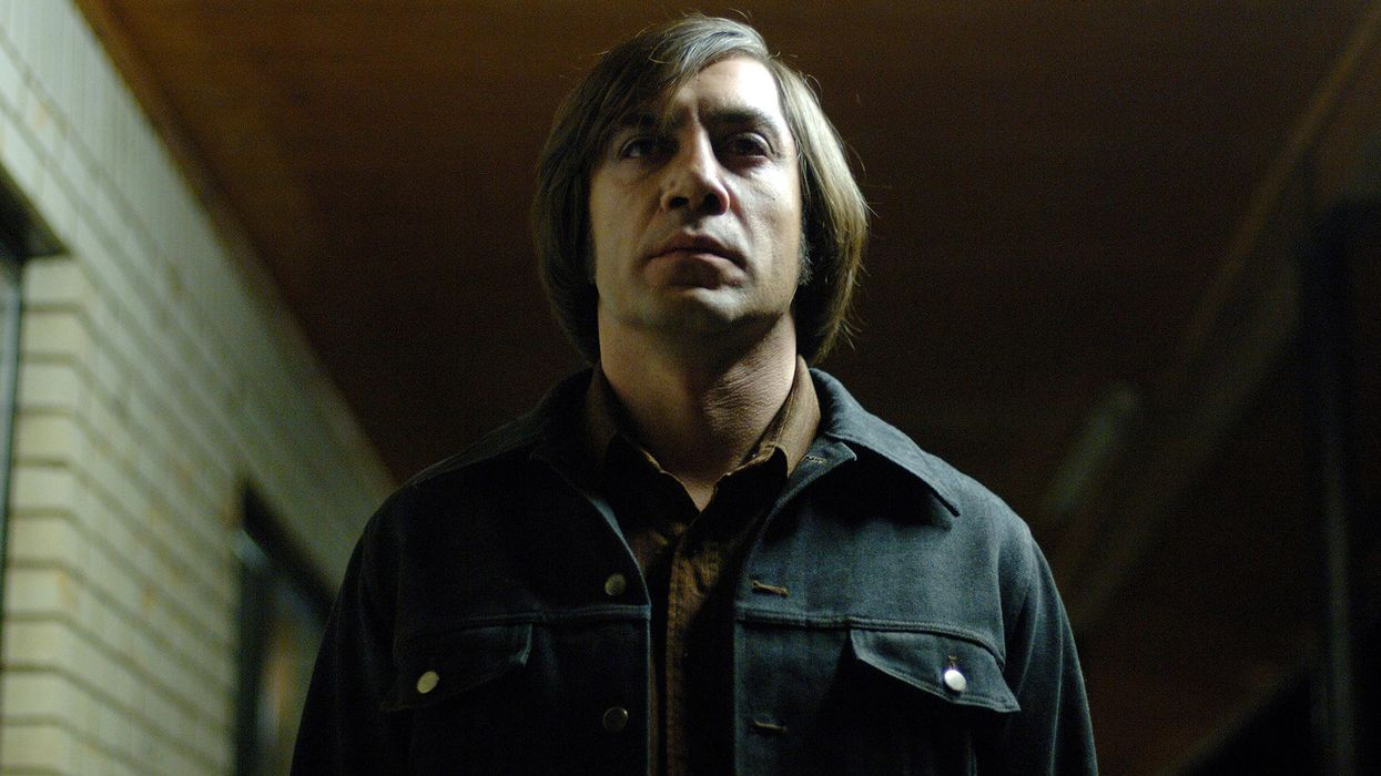How dark is your personality? Javier Bardem in No Country for Old Men