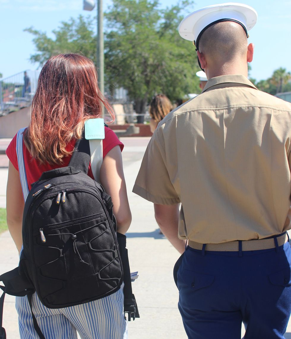 What It's Like To Go From 19-Year-Old College Student To 20-Year-Old Military Wife Overnight