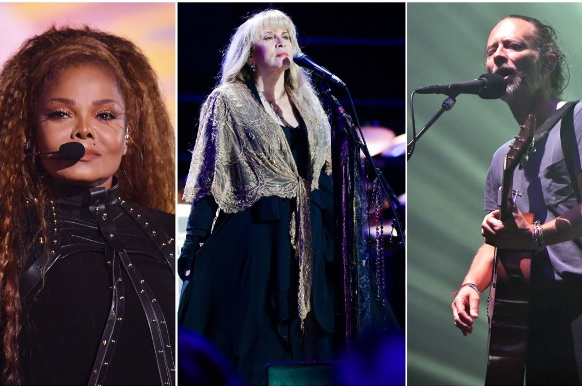 Janet Jackson, Stevie Nicks, and Radiohead to Join the Rock Hall of Fame
