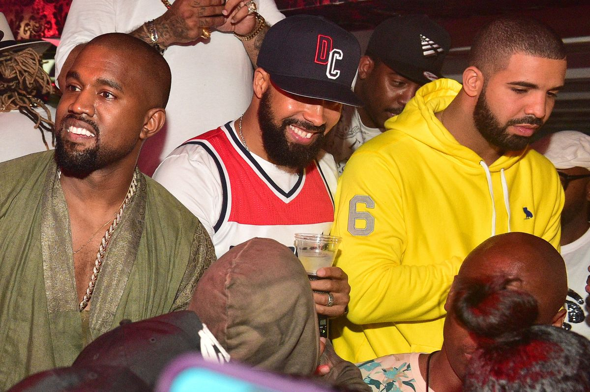 What Happened Between Kanye and Drake Last Night?