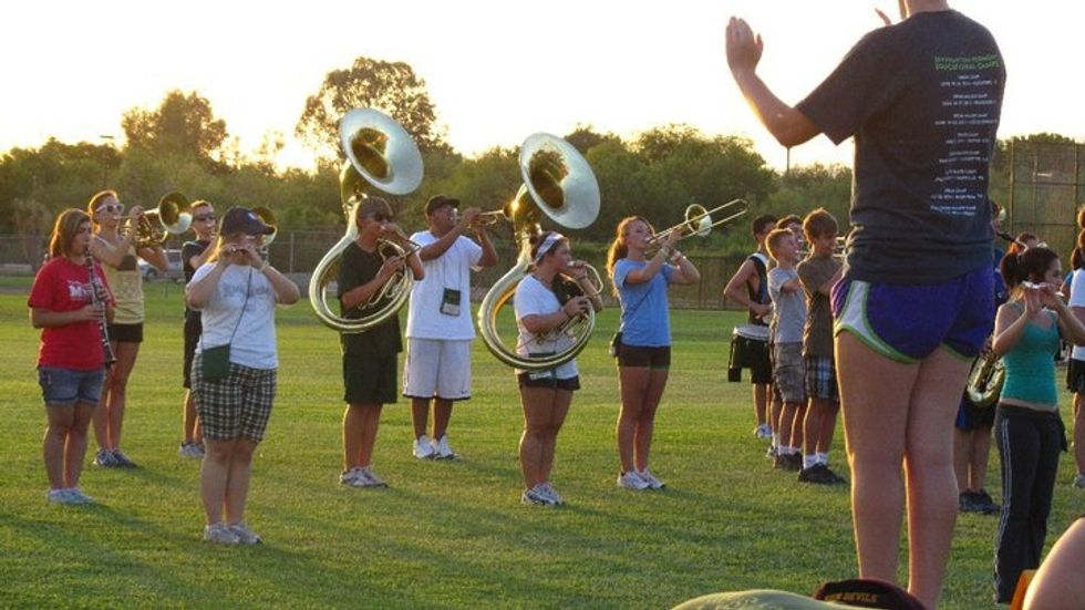 Marching Band Is Actually Really Important To Me