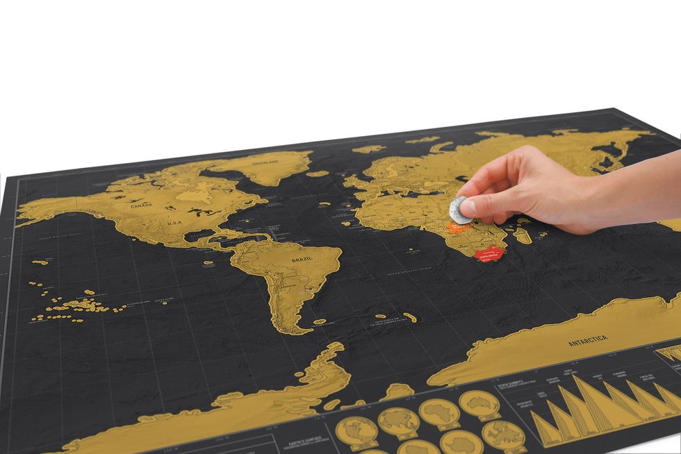 What You Must Know about Scratch off Map