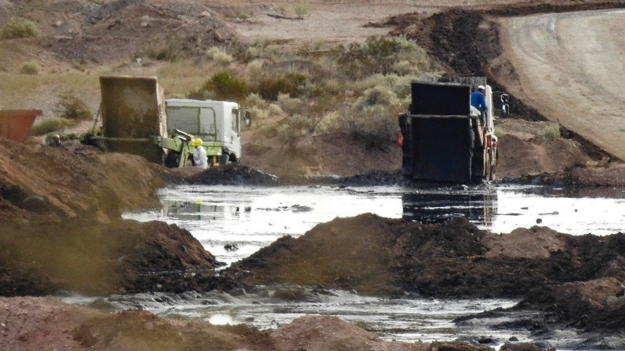 Indigenous Group Sues Exxon, Energy Majors Over Fracking Waste Contamination in Patagonia