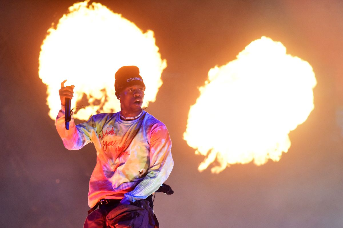 Travis Scott Delivers on Promise to Design High School Shirts
