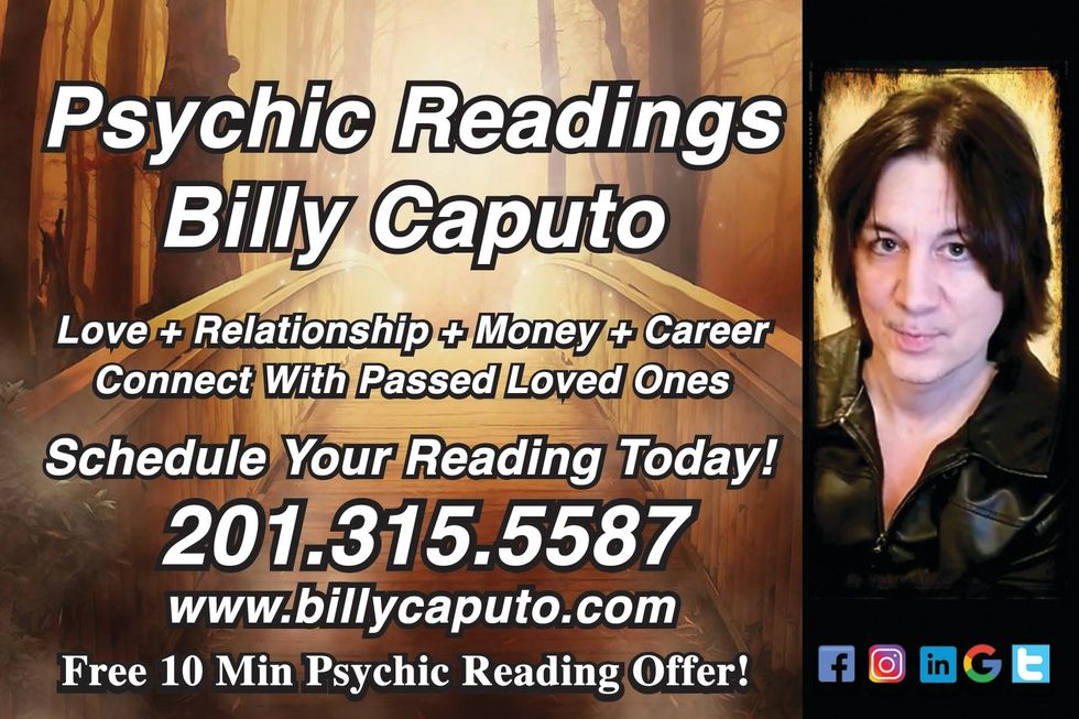 Interview with Psychic Billy Caputo