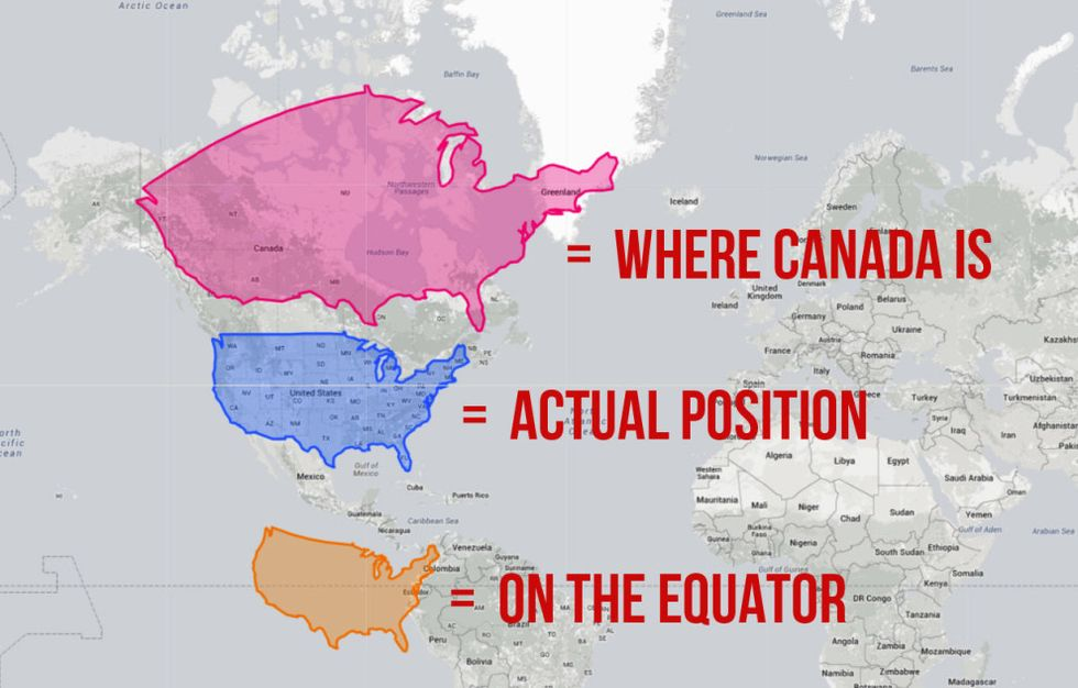 Is Canada Bigger Than Europe