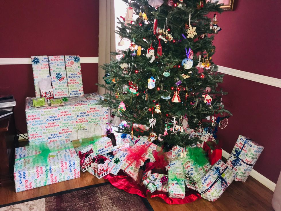 My Christmas Tree and Presents