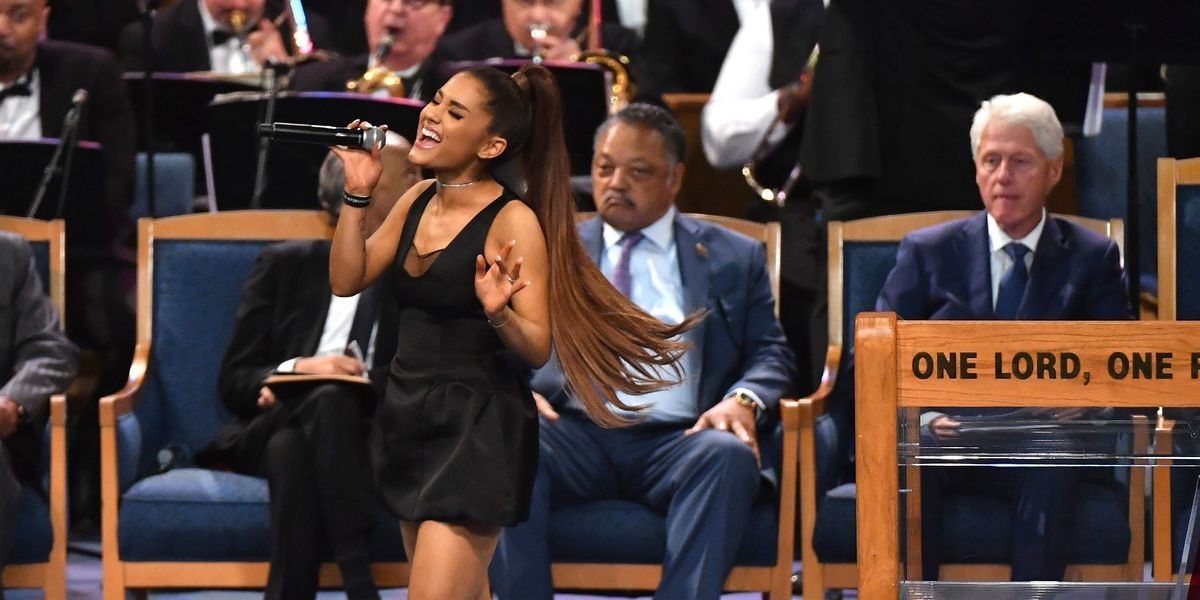 Yes, Ariana Can Save the Planet With Every Whistle Tone in 'Imagine' Live